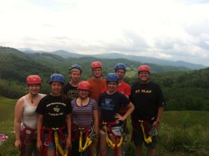 Youth Zip-Lining