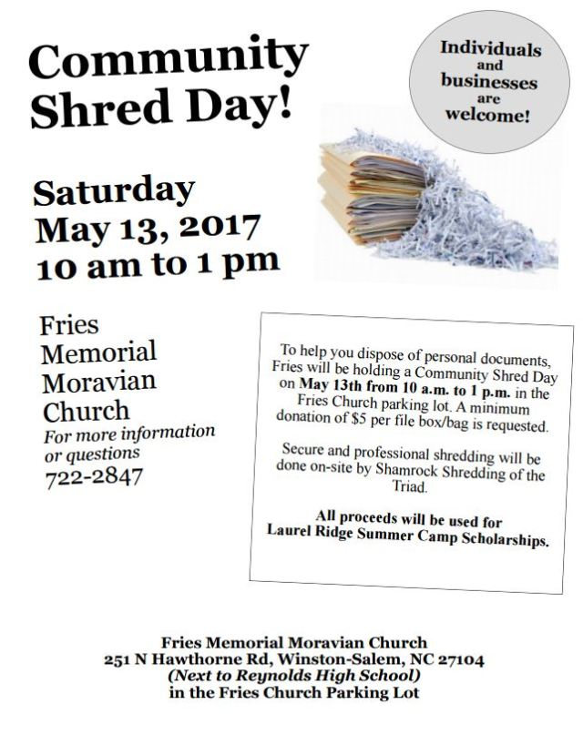 Shed Day 2017
